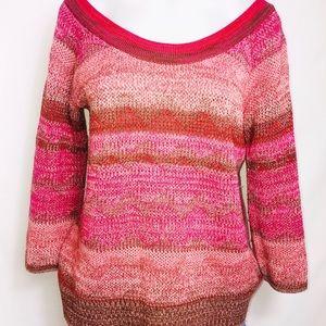 Ella moss fall round neck sweater